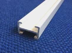 PB20 Pleated Blind Rail, 20mm