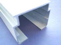 VB3 wide body white headrail inc tiltrod