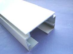 VB6 wide body white headrail inc tilt rod