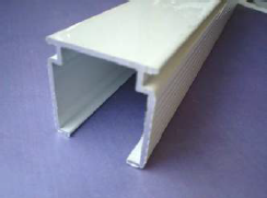 VB1 White Headrail Type A inc Tilt Rod
