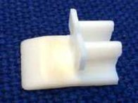 Bead Fitting Bracket, White