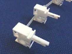 Plastic Linked Truck Peg Type 89mm (Push Fit)