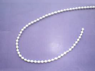 No10 White Plastic Control Chain 6mm Pitch