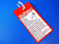 EN16433 Compliant General Warning Tag and Safety Clip