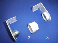 Tension Adjuster, End Cap and Idle End Bracket