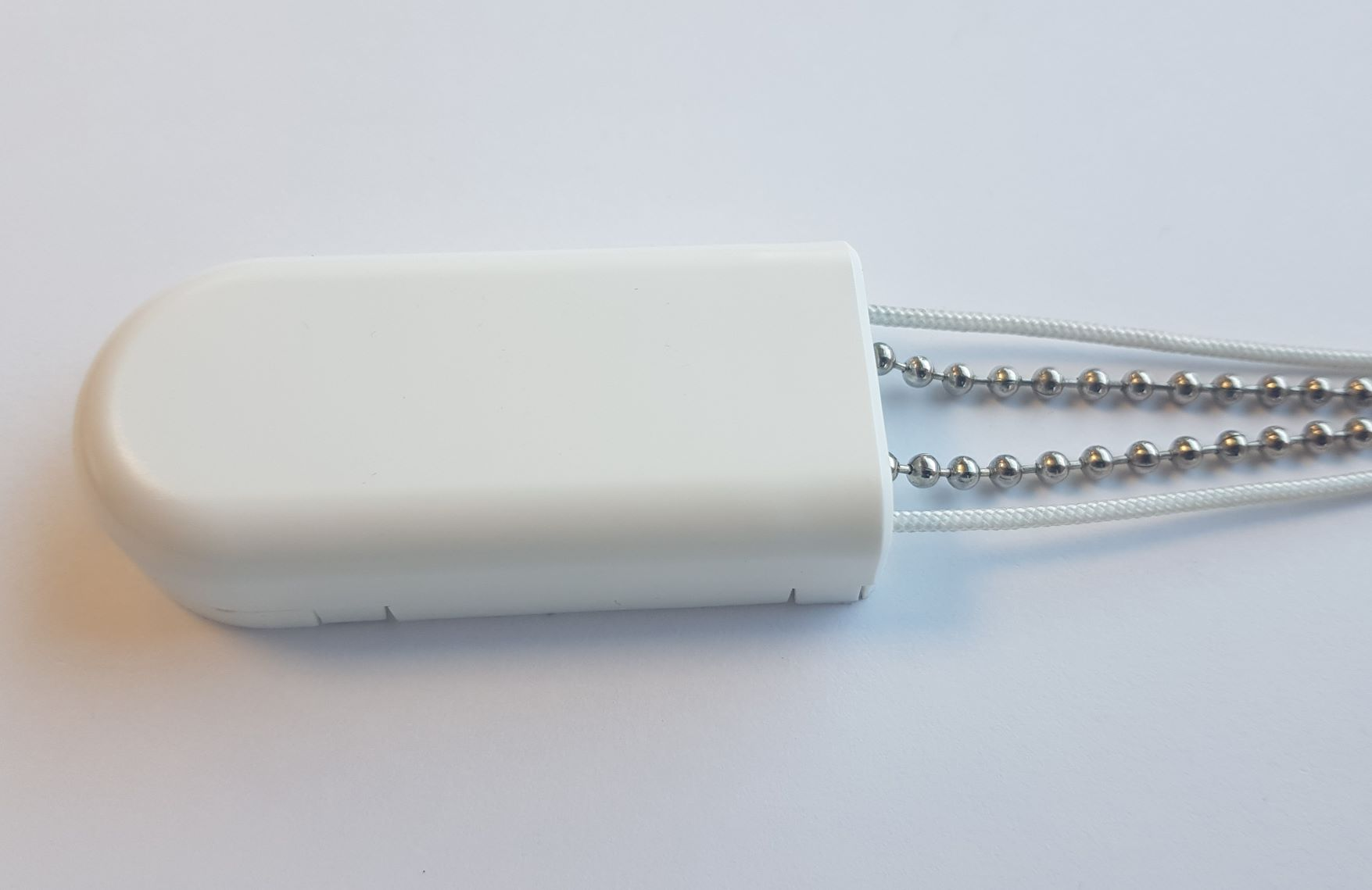 EN16434 Safety Cord Tidy, White, Twin Tension Device